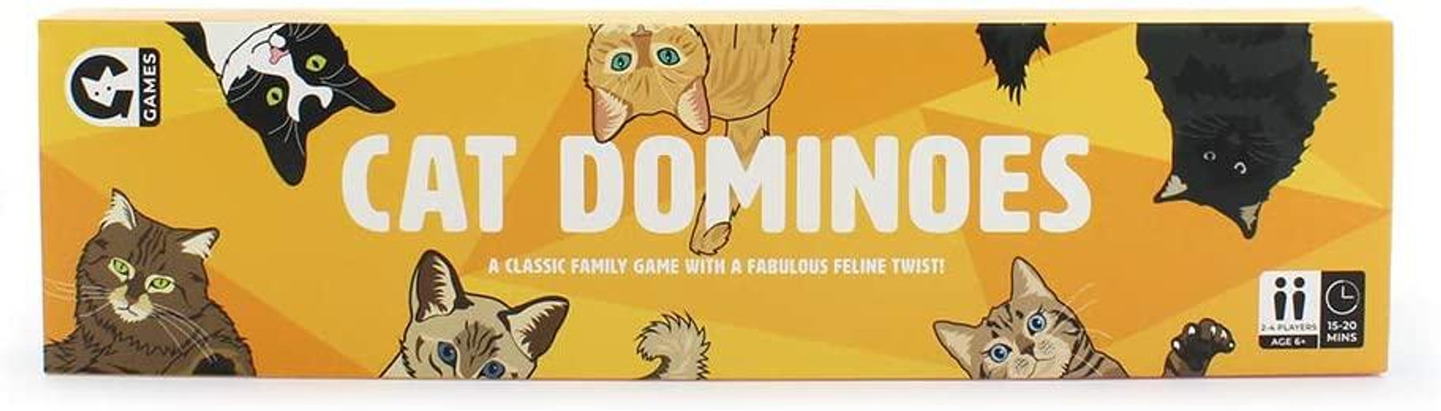 Match Pairs of Pussycats to Become The Cats Whiskers for Cat Lovers Cat Dominoes is the game that all cat-lovers will want to get their claws on! ...