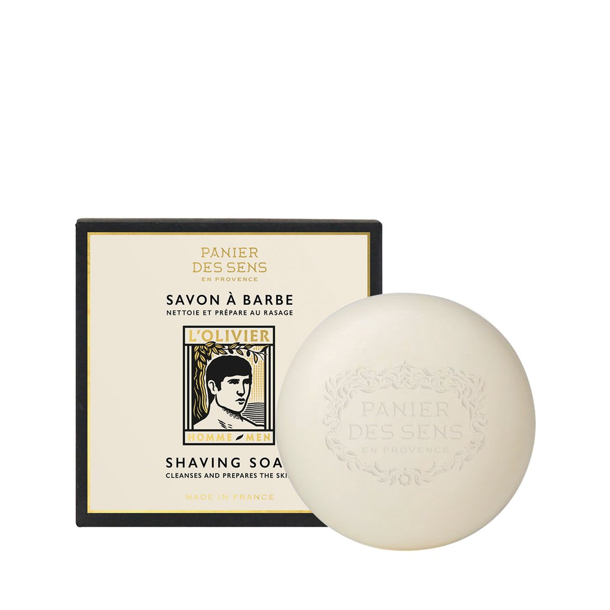 Panier des Sens L'Olivier Shaving Soap