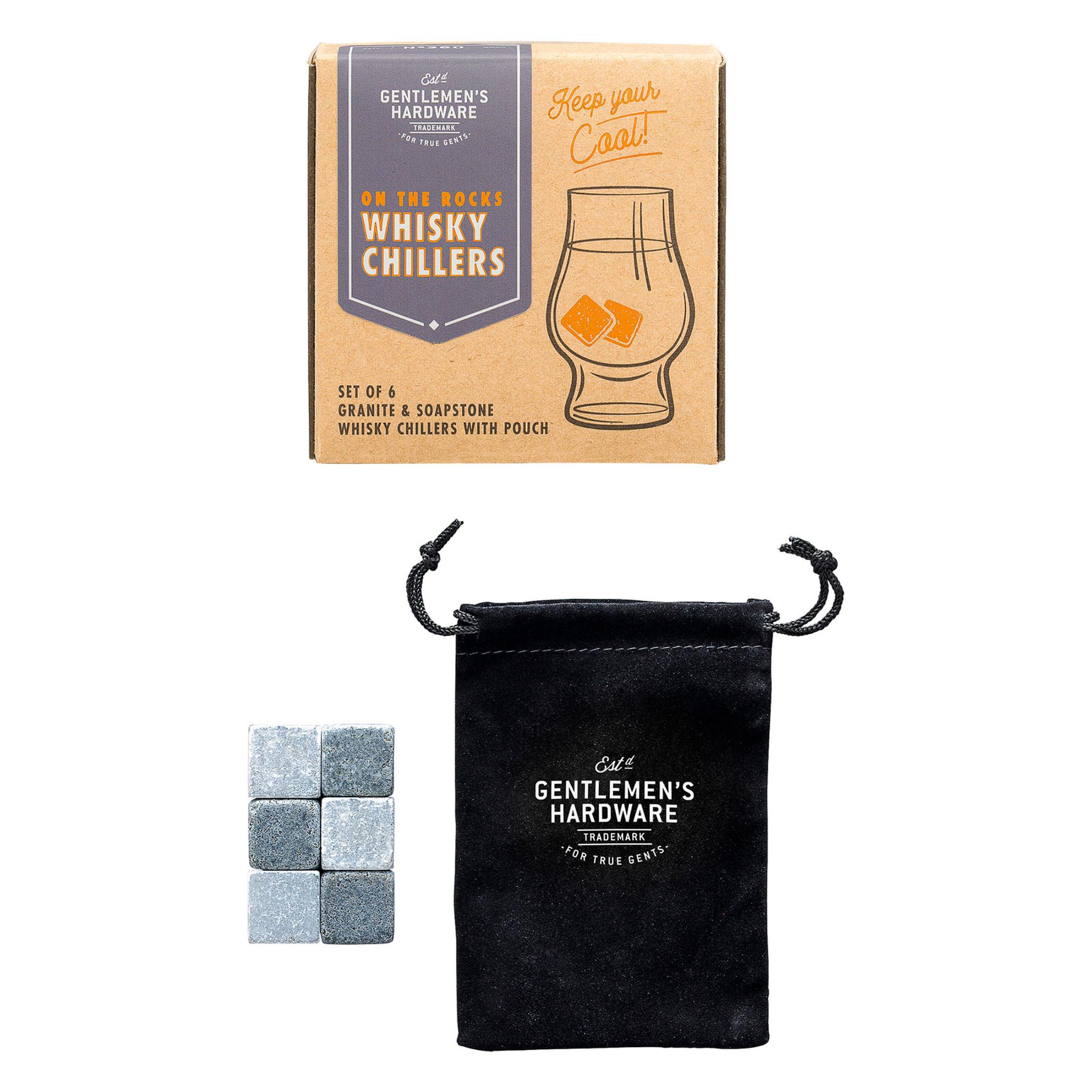 Whisky Chillers (set 6) - Gentlemen's Hardware