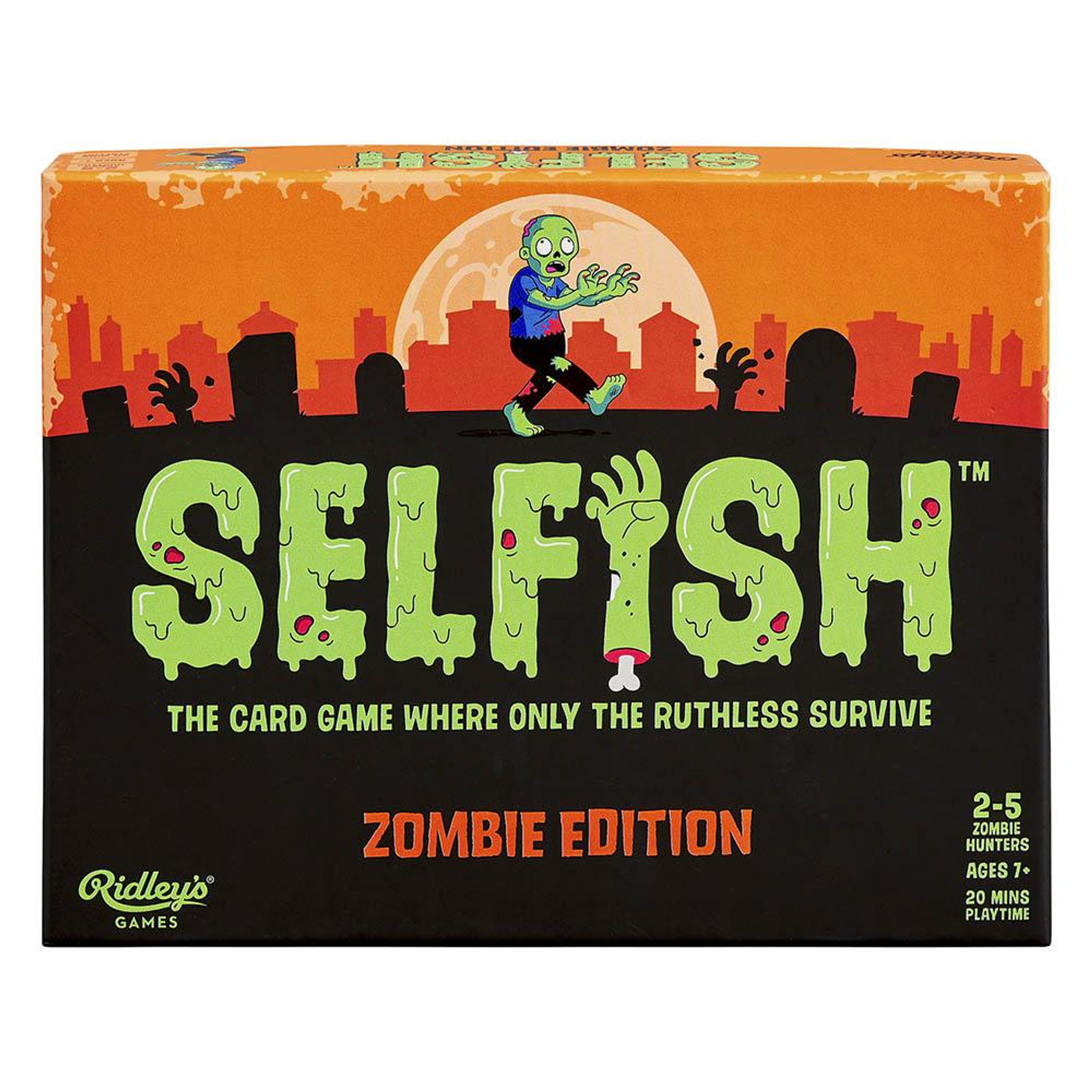 Ridley's Selfish Zombie game