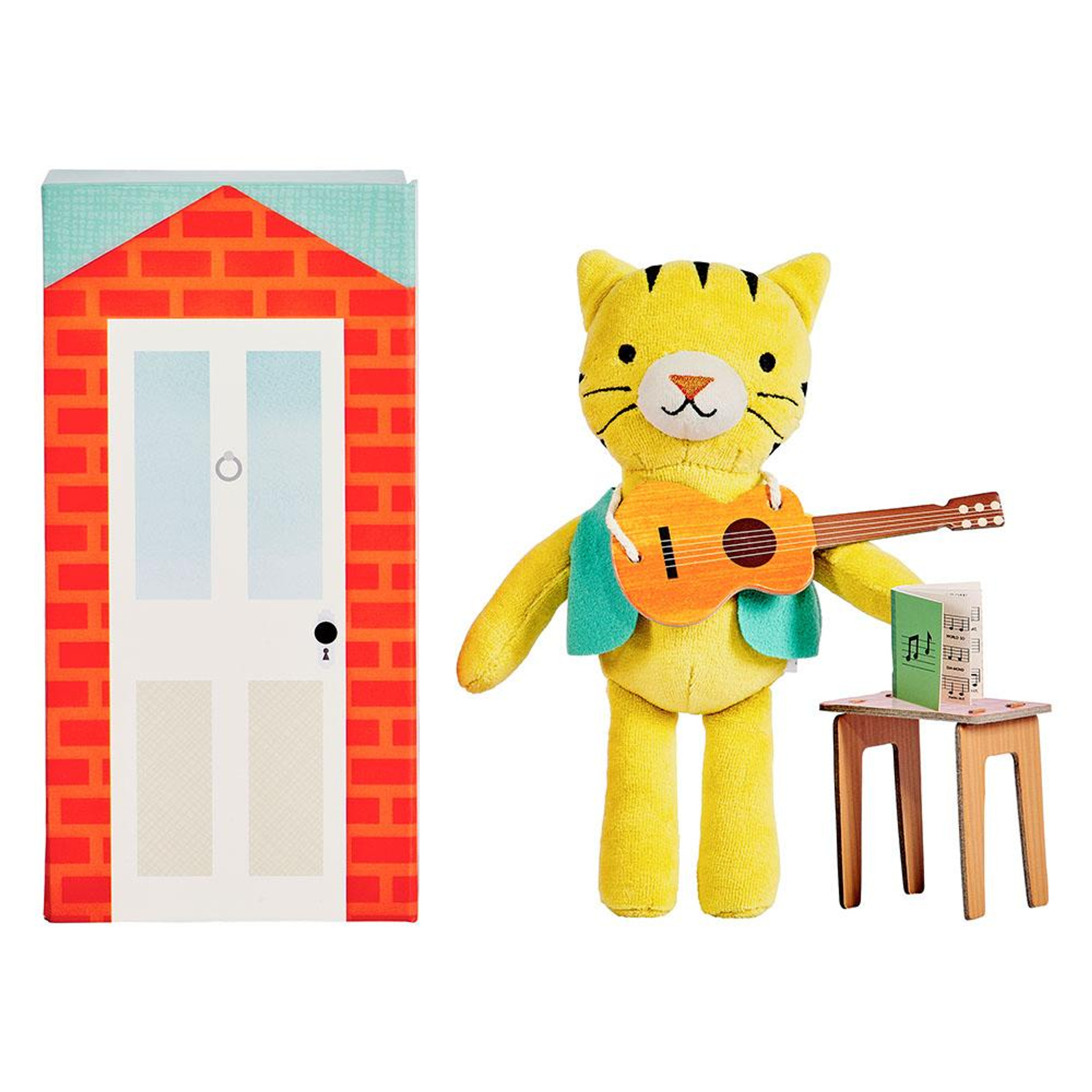 Theodore The Tiger Play Set -Petit Collage