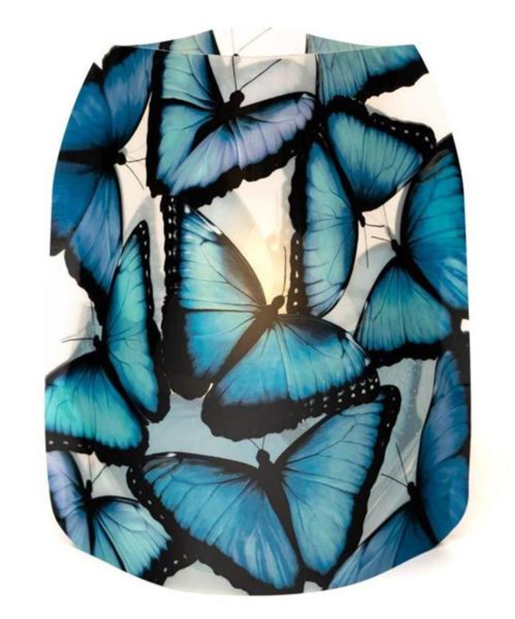 Blue Morpho Butterfly Luminaries & Water-Activated Floating LED Candles
