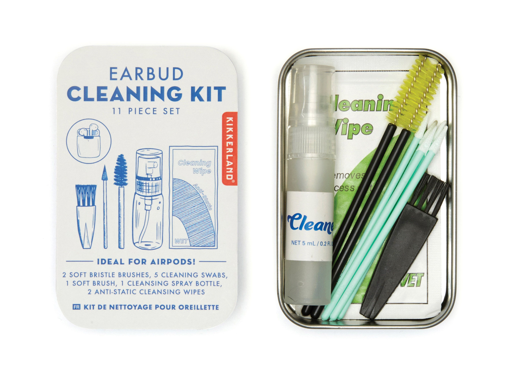 Ear Bud Cleaning Kit (11 pieces)