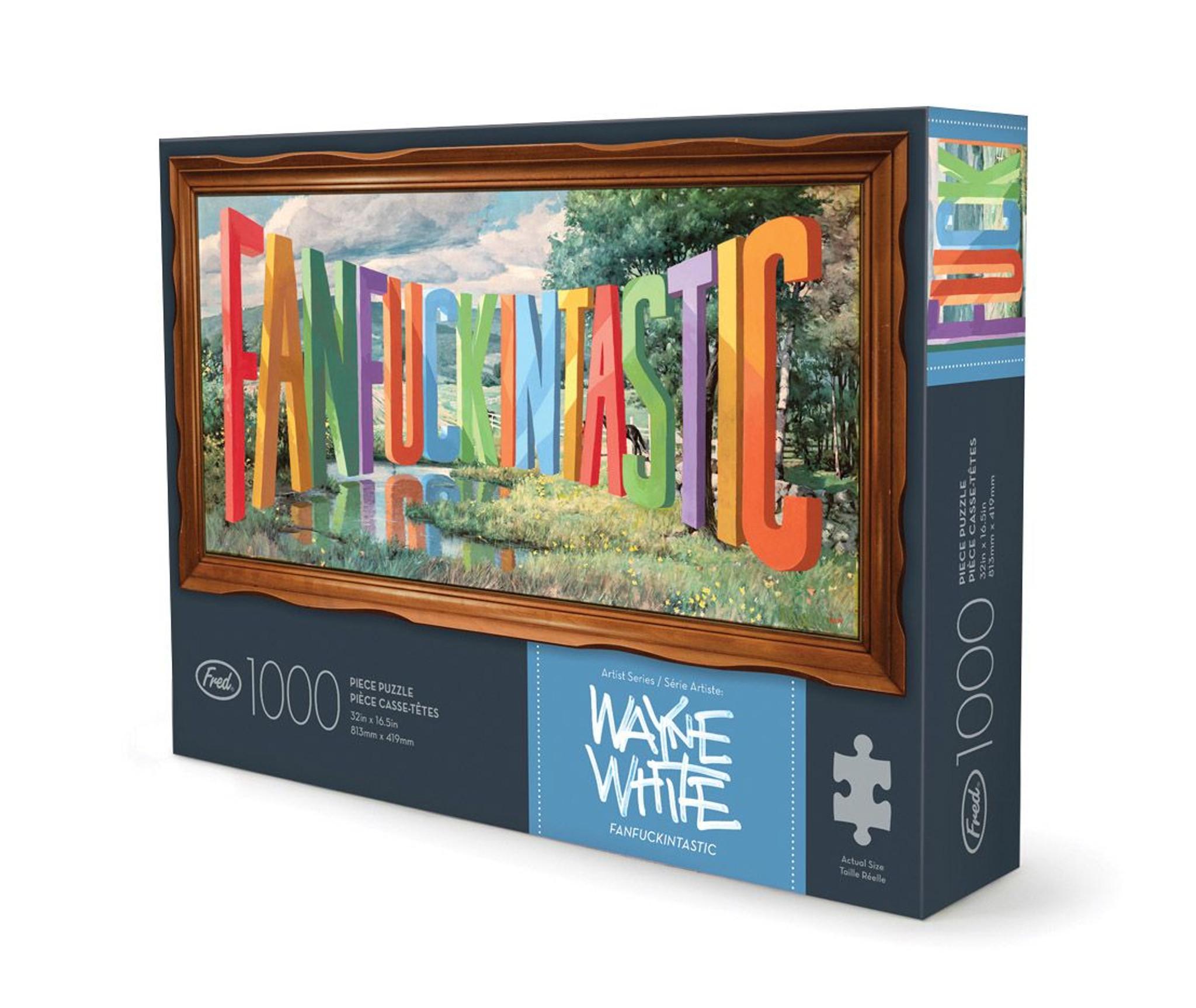 Fanfuckintastic -  1000 piece puzzle