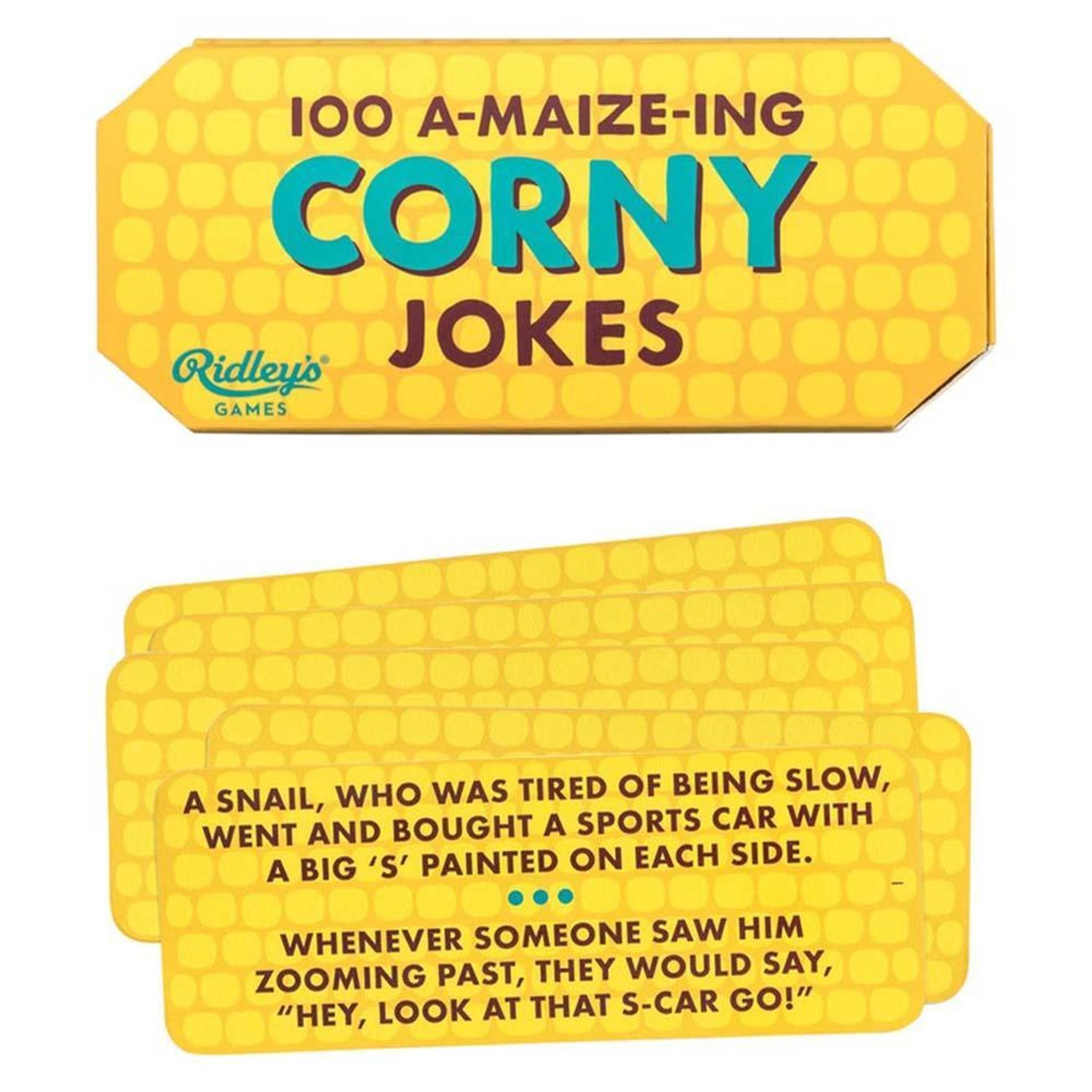 100 A-MAIZE-ING CORNY JOKES