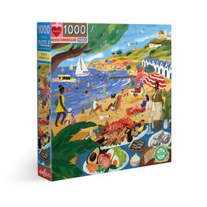 1000 pc puzzle - Beach Umbrellas