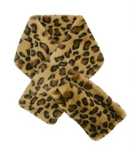 Neck Wrap Faux Fur - Ocelot