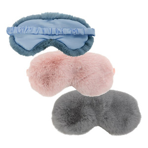 Cosy Luxe Eye Mask - assorted colours