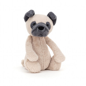 Bashful Pug - medium