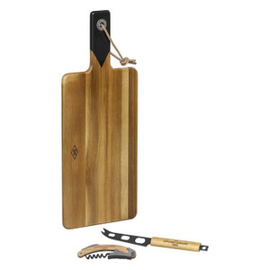 Curate an impressive cheese board for guests or family with this Gentlemen's Hardware Cheese & Wine set.
