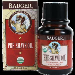 Badger Pre Shave Oil