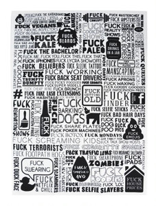 The F Word Tea Towel