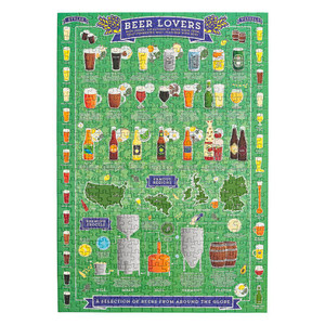 Beer Lover Jigsaw puzzle 500 pieces