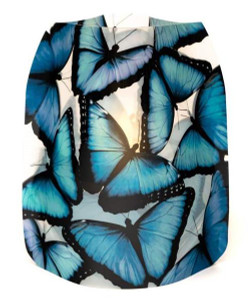Modgy Luminary Lantern Set - Blue Morpho Butterfly