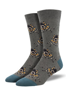 These tarantula socks are perfect fall socks for your spooky side