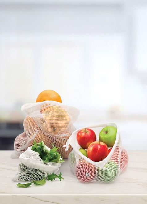 Mesh produce Bags - set 3