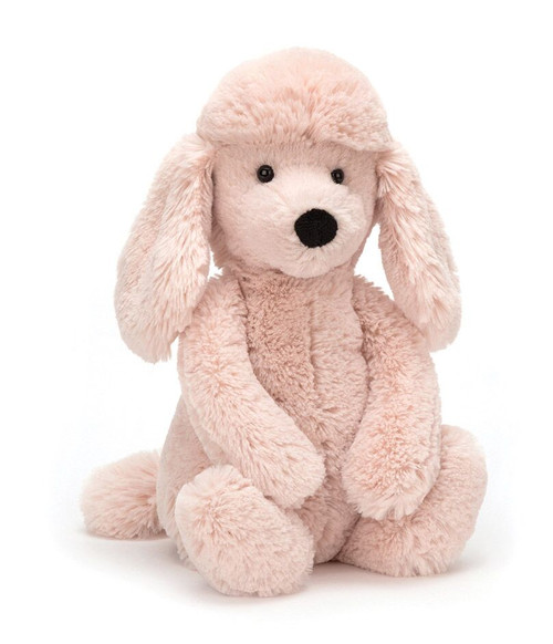 Bashful Pink Poodle - medium