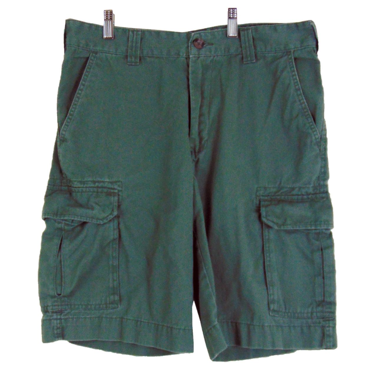 c2af9ffb14 Men's - Boys Merona Green Cargo Shorts - Size 32