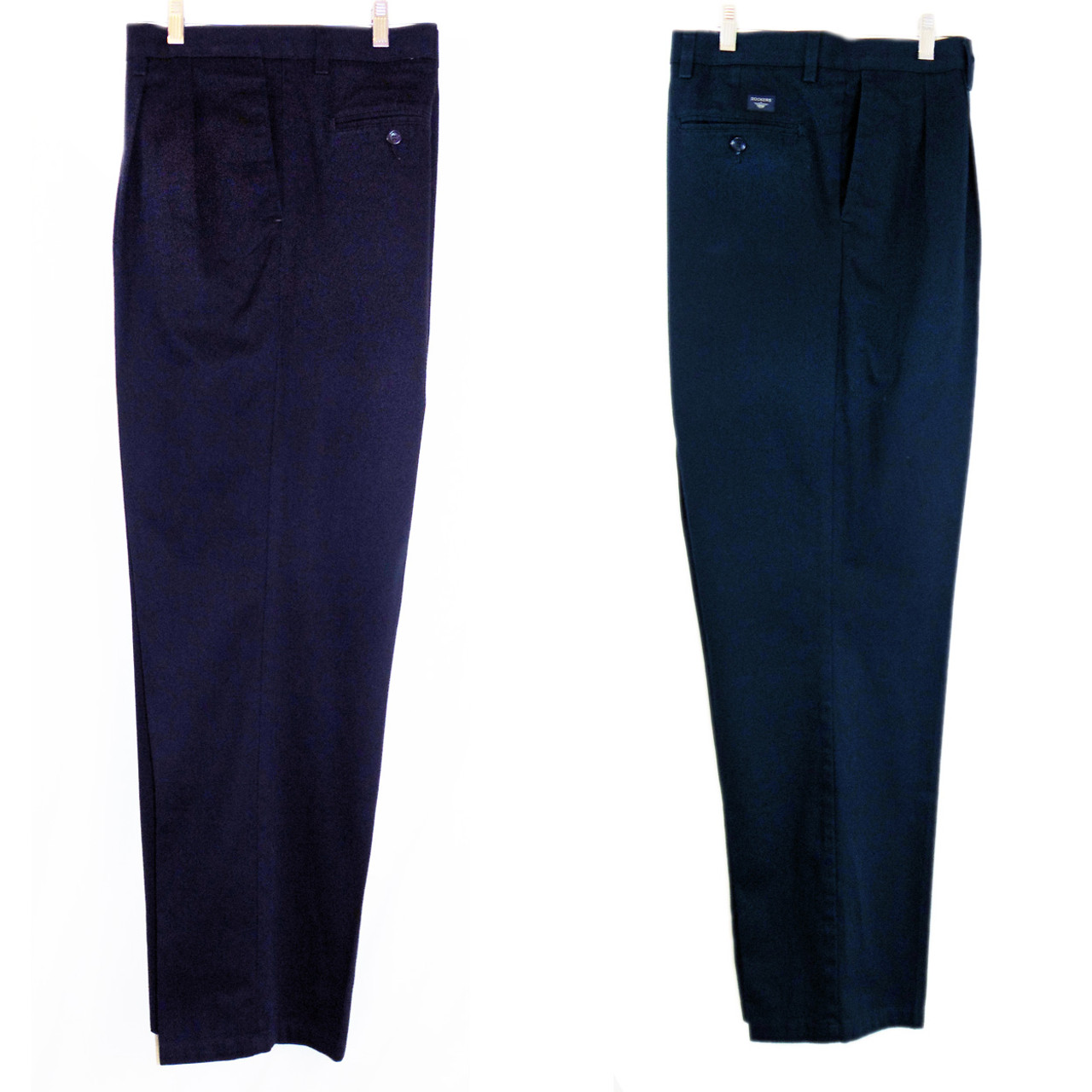 Dockers Individual Fit Navy Pants Size 40 32