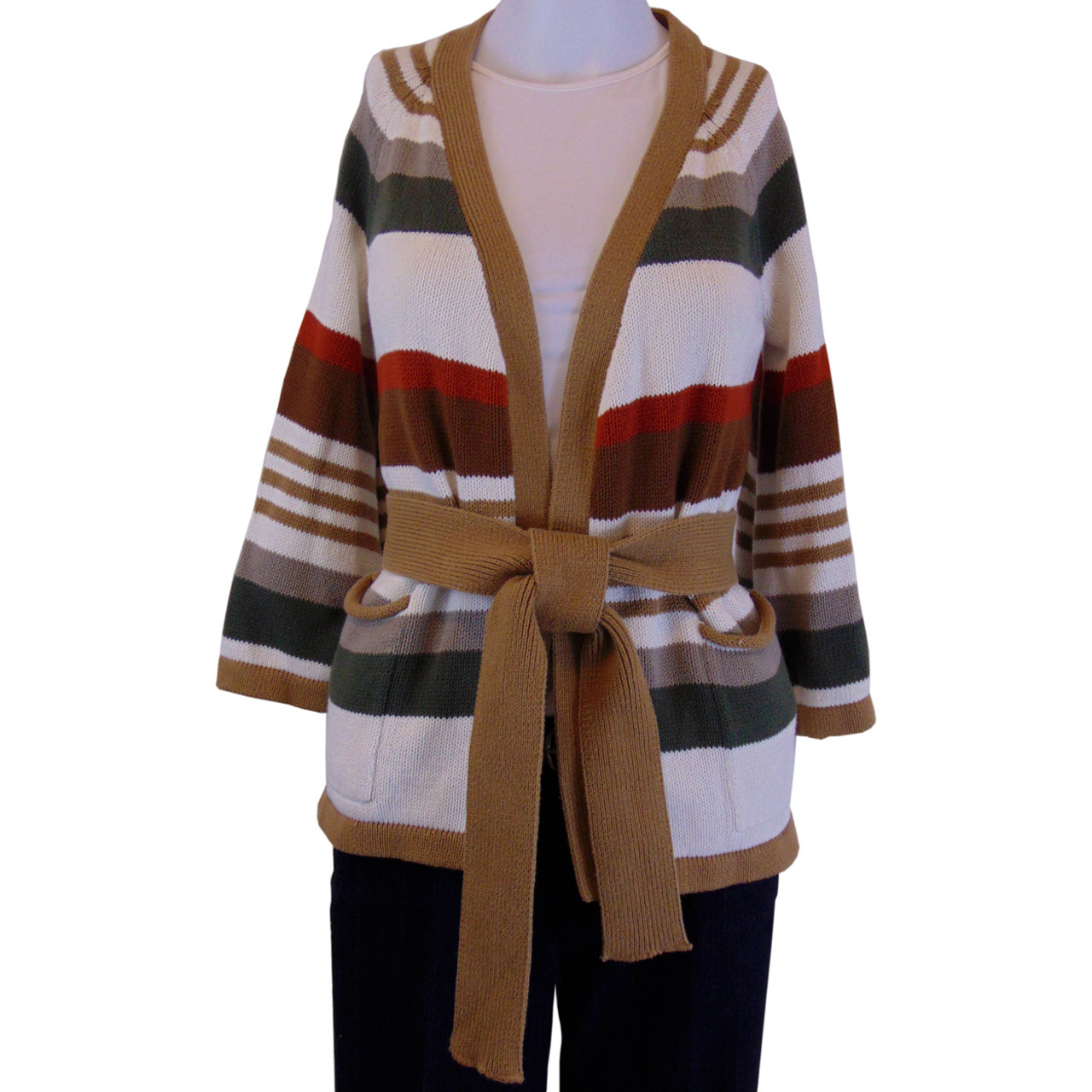 c186ad9732 Old Navy Open Front Striped Cardigan Size XS (5)