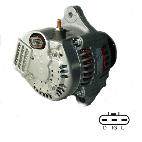 453F Bobcat Skid Steer Loader Denso Alternator 021080-0810