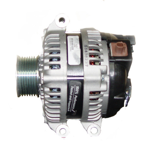 Honda Civic L4 2.4L 2354cc 144cid 2012-2015 Mas Alternator 11604