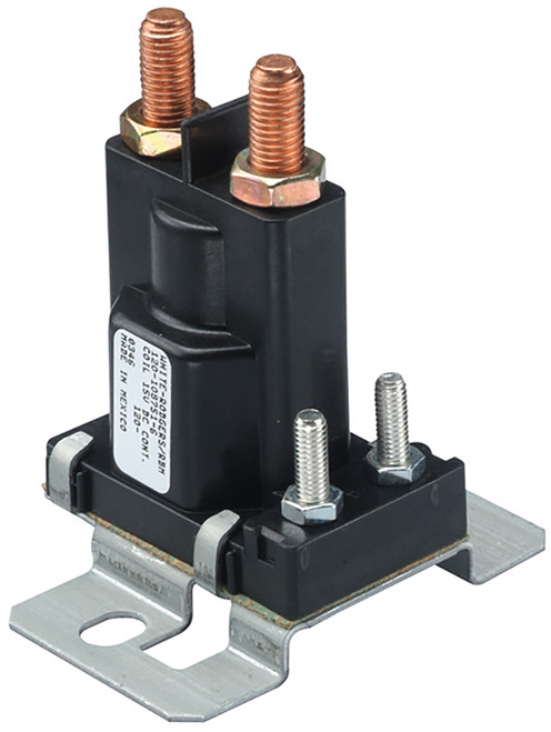 Auxiliary Solenoid 12v 4 Terminal Continuous Duty 120-901