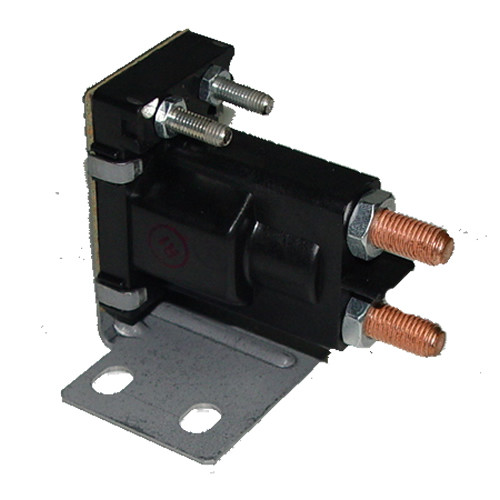 Auxiliary Solenoid 12v 4 Terminal Continuous 120-907