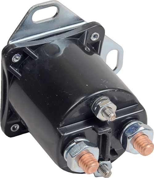 Auxiliary Starter Solenoid 12v 4 Terminal  Continuous 52-327