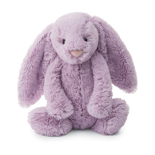 Jellycat Bashful Lilac Bunny stuffed animal