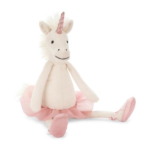 Jellycat Dancing Darcey Unicorn stuffed animal