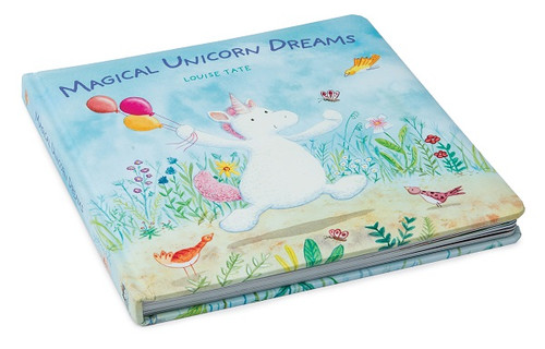 Magical Unicorn Dreams board book by Jellycat