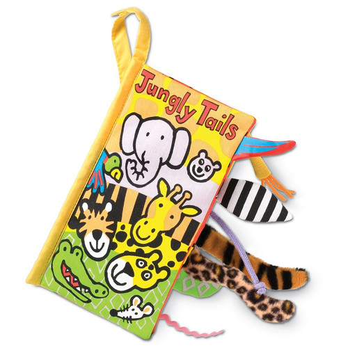 Jungly Tails Book by Jellycat