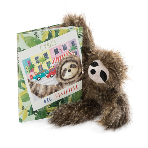 Cyril's Big Adventure Book by Jellycat