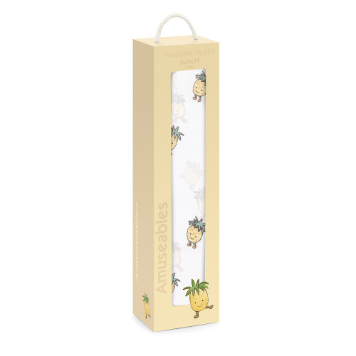 Amuseable Baby Pineapple Swaddle by Jellycat