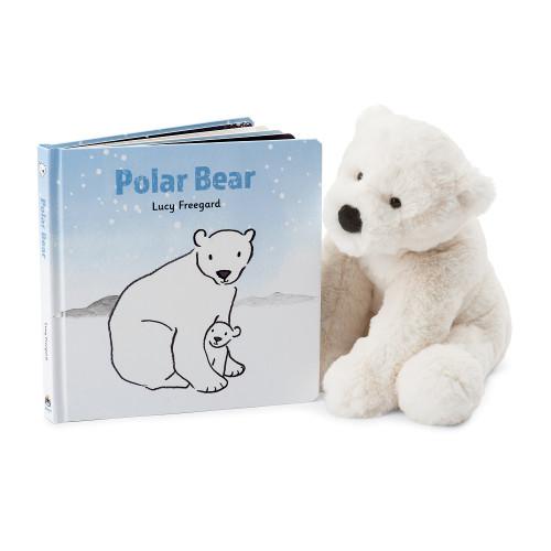 Polar Bear Board Book by Jellycat