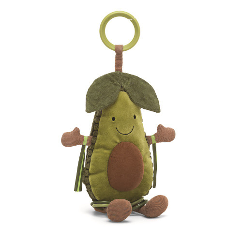 Amuseable Avocado Baby Activity Toy by Jellycat