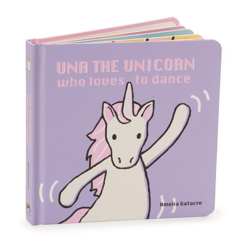 Una the Unicorn Board Book by Jellycat