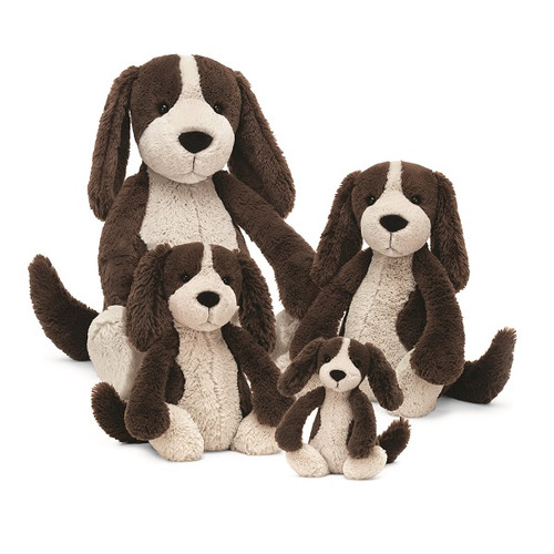 Bashful Fudge Puppy by Jellycat