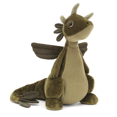 Olive Dragon by Jellycat