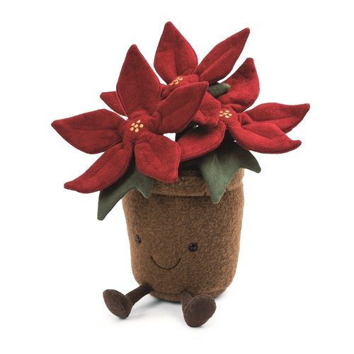 Amuseable Poinsetta by Jellycat