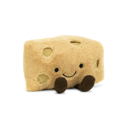 Amuseable Swiss Cheese by Jellycat
