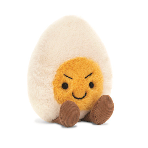 Boiled Egg Mischievous by Jellycat