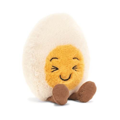 Boiled Egg Laughing by Jellycat