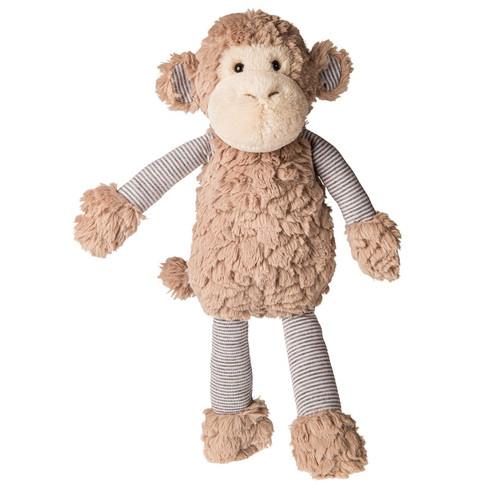 Putty Pinstripes Monkey by Mary Meyer
