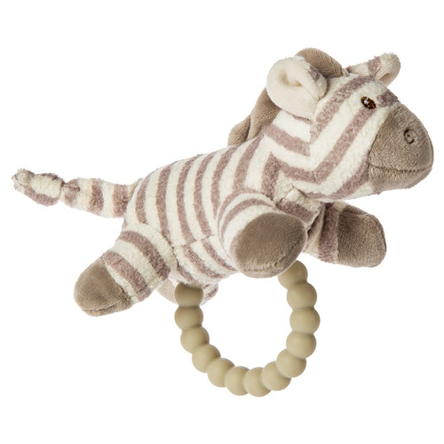 Afrique Zebra Teether Rattle by Mary Meyer