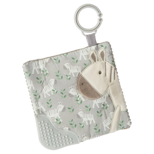 Afrique Zebra Crinkle Teether by Mary Meyer