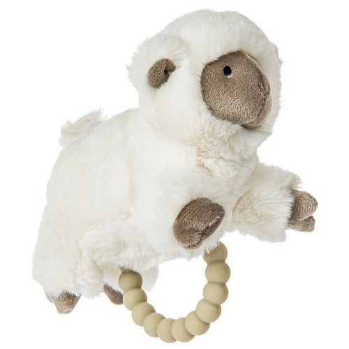 Luxey Lamb Teether Rattle by Mary Meyer