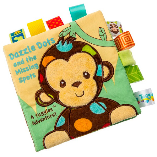 Taggies Dazzle Dots Monkey Soft Book by Mary Meyer