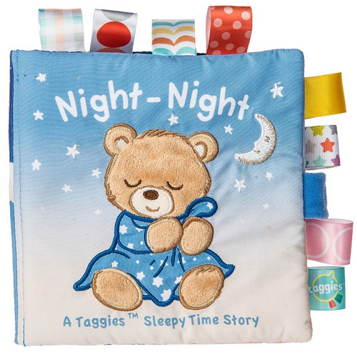 Taggies Starry Night Teddy Soft Book by Mary Meyer